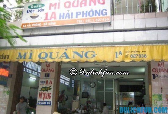 Địa chỉ ăn món ngon vào buổi sáng ở Đà Nẵng: quán ăn sáng ở Đà Nẵng chất lượng