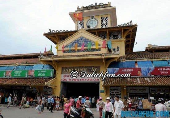 Địa chỉ các chợ mua sắm nổi tiếng ở Sài Gòn: Nơi mua sắm quần áo, thời trang ở Sài Gòn