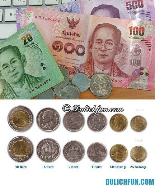 Cách đổi tiền Baht Thái Lan khi du lịch