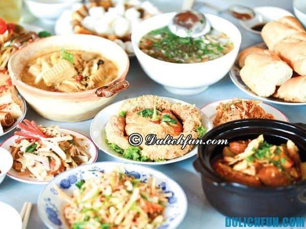 Địa chỉ ăn món ngon ở Huế, món ăn đặc sản hấp dẫn ở Huế