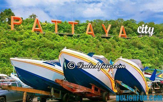 Khám phá các địa điểm mua sắm ở Pattaya, Thái Lan