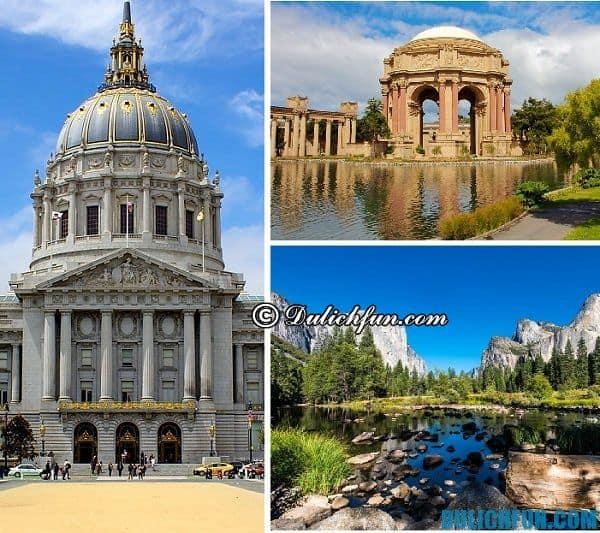 Kinh nghiệm du lịch San Francisco - điểm tham quan nổi tiếng