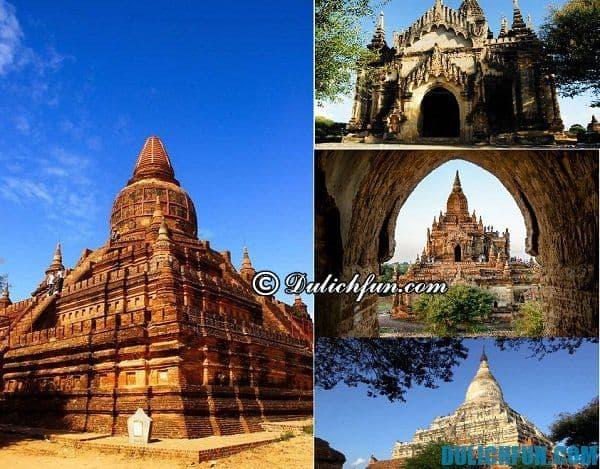 Tư vấn lịch trình du lịch Bagan chi tiết: Những điểm tham quan nổi tiếng ở Bagan. Tới Bagan nên đi đâu?
