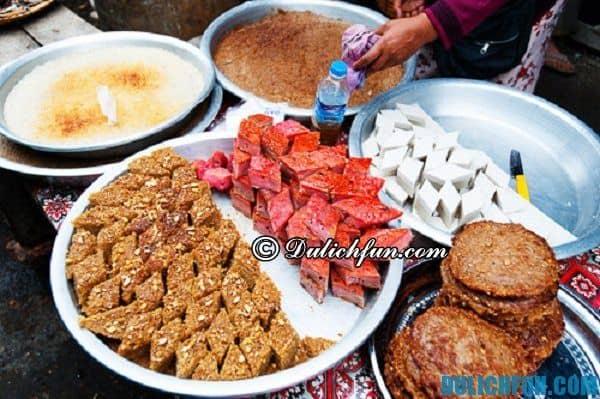 Món ngon Myanmar. Đặc sản Myanmar. Du lịch Myanmar nên ăn gì?