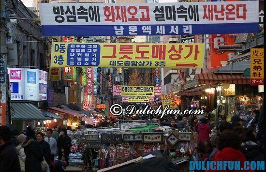 Dongdaemun, địa điểm mua sắm giá rẻ, chất lượng ở Seoul, Hàn Quốc bạn không nên bỏ lỡ