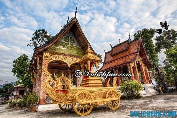 Điểm du lịch đẹp nổi tiếng ở Luang prabang