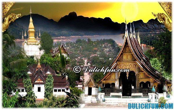 Nhà nghỉ khách sạn tốt nhất ở Luang Prabang. Nơi lưu trú tốt ở Luang Prabang.