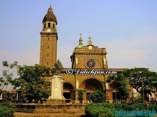 Du lịch Manila nên ở khách sạn tốt, chất lượng nào?