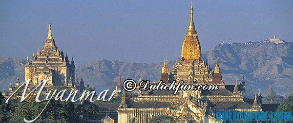 Du lịch Myanmar- khám phá ngôi chùa nổi tiếng Myanmar