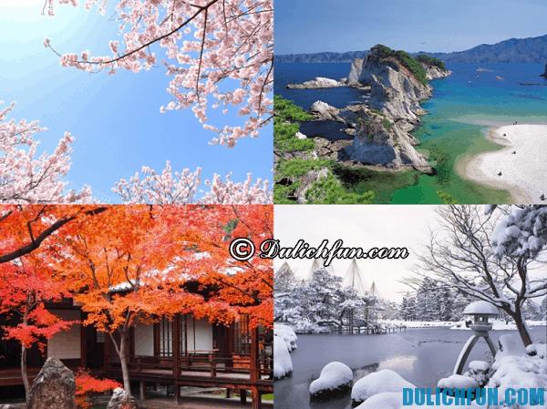 Du lịch Nhật Bản mùa nào đẹp nhất?