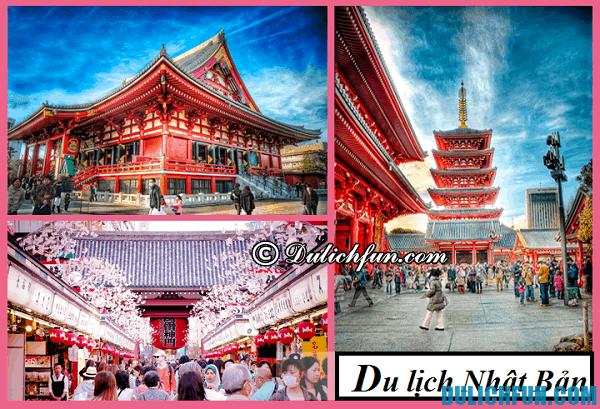 Chi phí du lịch Nhật Bản. Du lịch Nhật Bản cần bao nhiêu tiền?