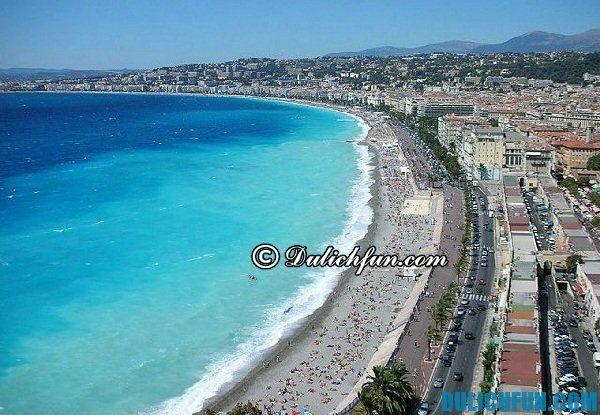 Du lịch Pháp, ghé thăm những bãi biển đẹp nổi tiếng ở Pháp, du lịch biển ở Pháp