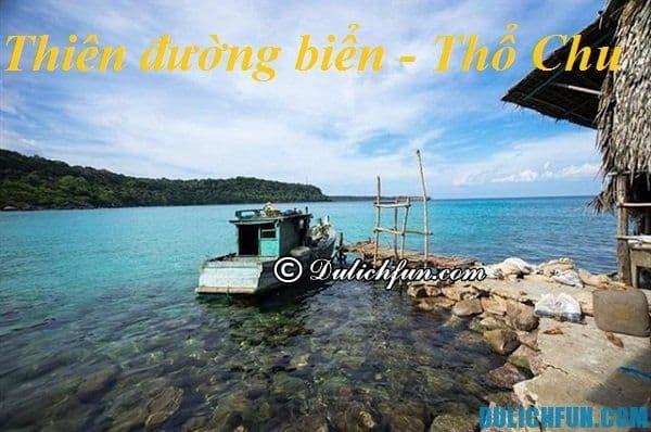 Kinh nghiệm du lịch đảo Thổ Chu giá rẻ: Hướng dẫn phượt đảo Thổ Chu