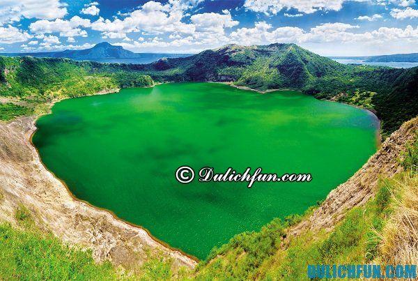 Du lịch núi lửa Taal ở Tagaytay, Philippines trong 1 ngày