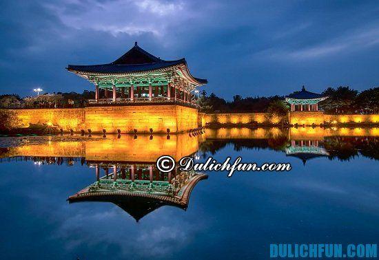 Gyeongju, một trong những điểm tham quan du lịch nổi tiếng ở Hàn Quốc nhất định phải tới