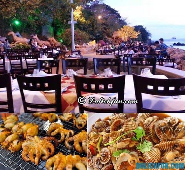 Địa chỉ ăn hải sản ở Vũng Tàu ngon rẻ. Quán ăn, nhà hàng ở Vũng Tàu. Du lịch Vũng Tàu nên ăn ở đâu?