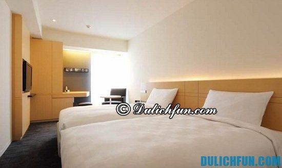 Du lịch Fukuoka nên ở khách sạn nào? Hakata Tokyu REI Hotel, nhà nghỉ, khách sạn đẹp, giá rẻ ở Fukuoka