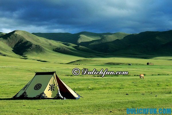Kinh nghiệm du lịch Mông Cổ - nơi lưu trú