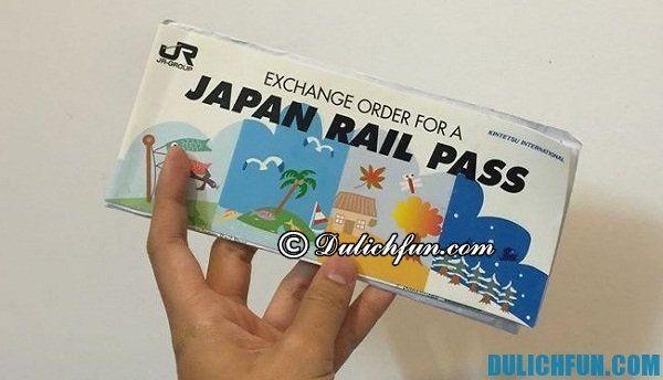 Phương tiện đi lại tiết kiệm ở Nhật. Chi phí du lịch Nhật Bản