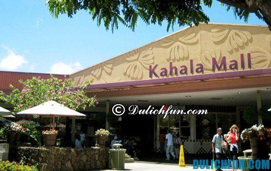 Kahala Mall Center, địa điểm mua sắm giá rẻ, nổi tiếng ở Hawaii. Các điểm mua sắm giá rẻ ở Hawaii bạn nhất định phải tới