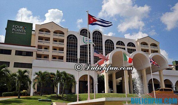 Kinh nghiệm du lịch Cuba - Nhà nghỉ, khách sạn đẹp và tốt.