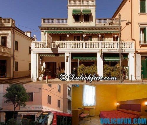 Kinh nghiệm du lịch Venice chi tiết đầy đủ: khách sạn ở Venice giá rẻ, chất lượng. Du lịch Venice, Ý nên ở khách sạn nào?