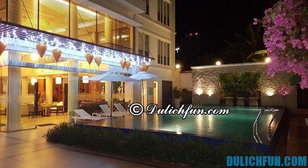Khách sạn giá rẻ, đẹp có hồ bơi ở Vũng Tàu.