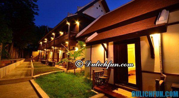 Khách sạn tầm trung ở Luang Prabang. Du lịch Luang Prabang nên ở khách sạn nào?
