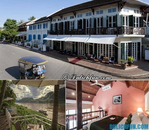 Khách sạn 4 sao ở Luang Prabang. Du lịch Luang Prabang nên ở đâu? Nơi lưu trú cao cấp, tốt ở Luang Prabang
