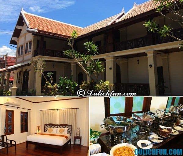 Khách sạn bình dân giá rẻ tốt ở Luang Prabang