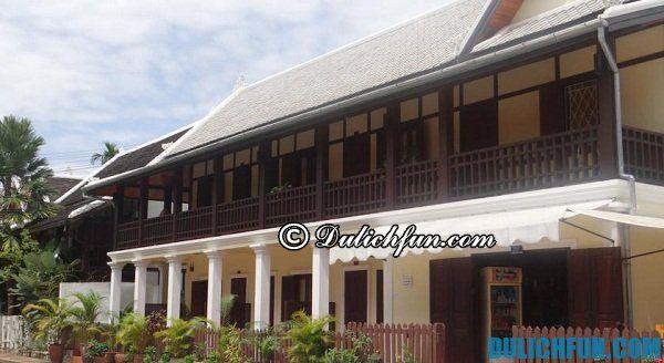 Du lịch Luang Prabang nên ở đâu? Nơi lưu trú tốt ở Luang Prabang.
