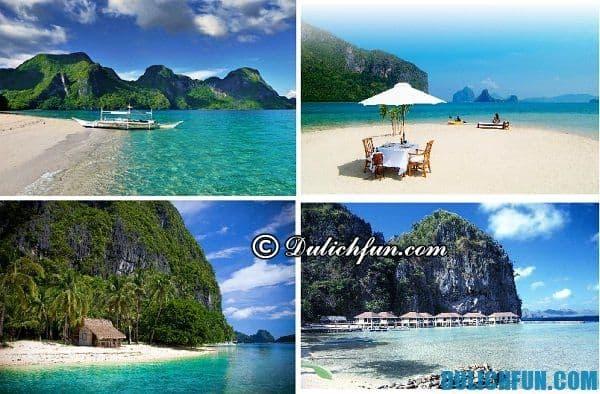 Khám phá những địa điểm du lịch nổi tiếng ở El Nido Philippines. Kinh nghiệm du lịch El Nido Philippines