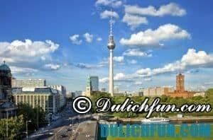 Khám phá thủ đô Berlin Đức, địa điểm du lịch nổi tiếng, đẹp ở Đức thu hút du khách