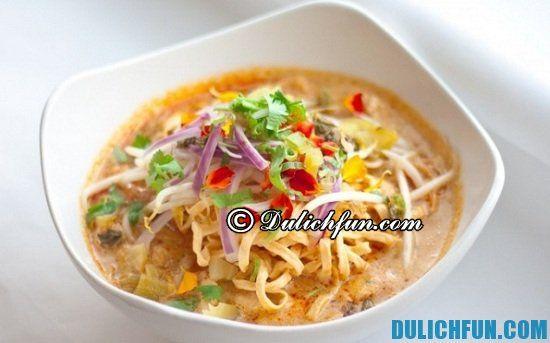 Khausoy, món ăn ngon, đặc sản nổi tiếng ở Viêng Chăn. Khám phá các món ăn ngon, hấp dẫn khi du lịch Viêng Chăn