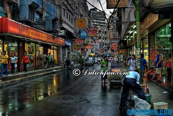 Khu phố Tàu ở Manila, địa điểm du lịch đẹp, sầm uất ở Manila