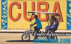Kinh nghiệm du lịch Cuba