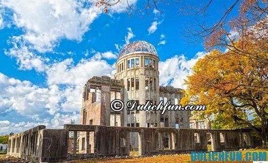 Chia sẻ kinh nghiệm du lịch Hiroshima đầy đủ, chi tiết nhất cho người mới du lịch Nhật Bản lần đầu