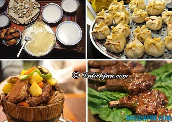 Kinh nghiệm du lịch Mông Cổ - món ăn ngon nổi tiếng ở Mông Cổ. Ăn gì khi du lịch Mông Cổ?