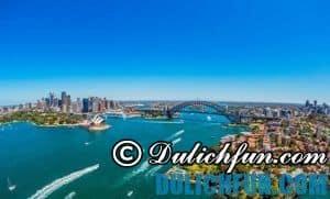 Hướng dẫn và kinh nghiệm du lịch Sydney đầy đủ nhất. Cầu cảng Sydney