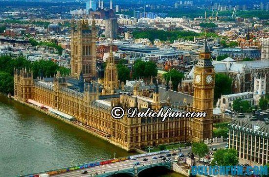 Tổng hợp tẩt cả kinh nghiệm du lịch London đầy đủ, chi tiết nhất: Hướng dẫn lịch trình tham quan, vui chơi, ăn uống khi du lịch nước Anh