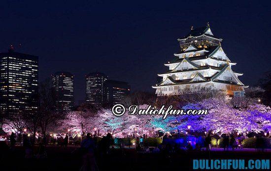 Chia sẻ kinh nghiệm du lịch Osaka tự túc, an toàn