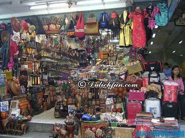 Kinh nghiệm mua sắm, chọn quà khi du lịch Thái Lan