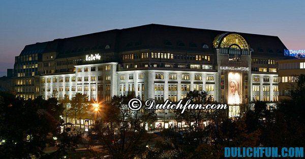 Kinh nghiệm mua sắm ở Berlin, kinh nghiệm du lịch Berlin chi tiết nhất.