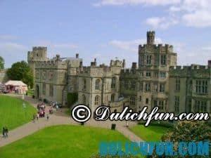 Khám phá những lâu đài nổi tiếng nước Anh đẹp, lãng mạn