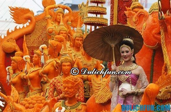 Lễ hội Khao Phansa, một trong những lễ hội truyền thống ở Thái Lan nhất định bạn phải tham gia