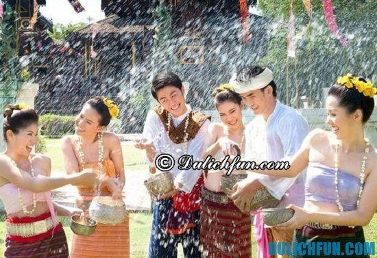 Lễ hội Songkran, lễ hội truyền thống lớn nhất ở Thái Lan