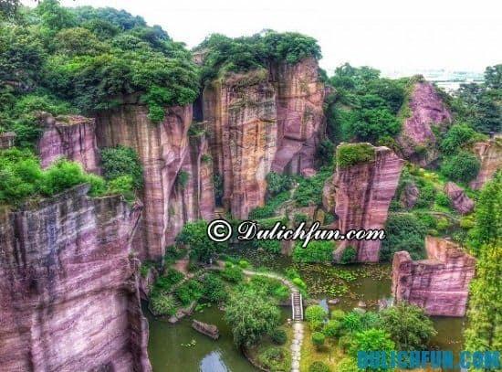 Liên Hoa Sơn, địa điểm tham quan du lịch nổi tiếng ở Quảng Châu