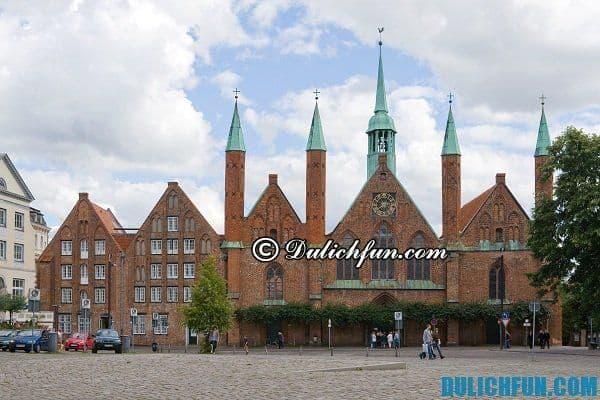 Lubeck, địa danh du lịch Đức đẹp. Top những địa điểm du lịch Đức đẹp, nổi tiếng thu hút du khách