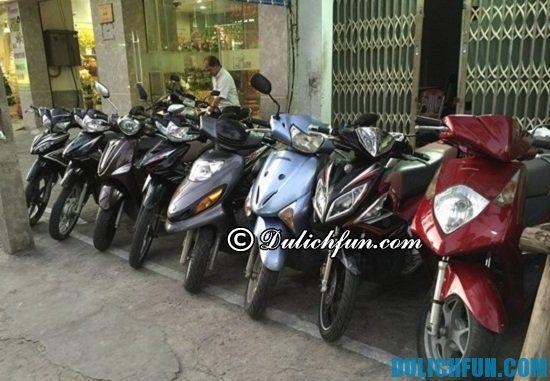 Lưu ý khi thuê xe máy ở Đà Nẵng: Giá thuê xe máy ở Đà Nẵng
