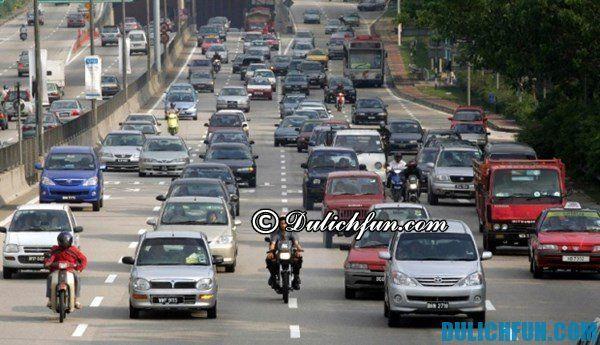 Lưu ý về giao thông ở Indonesia. Những lưu ý cần thiết khi du lịch Indonesia